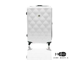 食尚玩家莎莎代言Just Beetle 永恆璀璨時尚箱奈兒PC 鏡面鑲鑽旅行箱行李箱拉桿箱