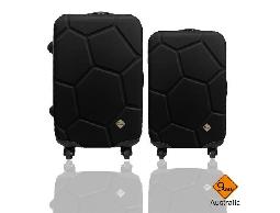 行李箱 旅行箱Gate9 經典世紀足球系列ABS輕硬殼 拉桿箱 登機箱 24+20吋兩件組