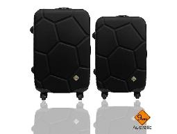 行李箱 旅行箱Gate9 經典世紀足球系列ABS輕硬殼 拉桿箱 登機箱 28+24吋兩件組