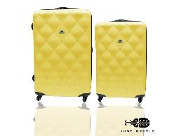 行李箱 旅行箱 永恆璀璨時尚箱奈兒PC 鏡面鑲鑽拉桿箱登機箱24+20兩件組