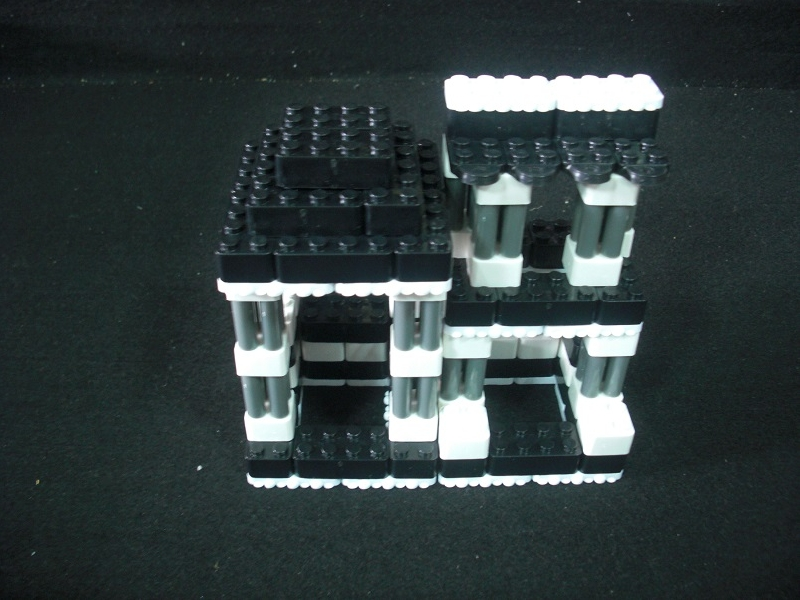 台灣製積木鄉村小屋