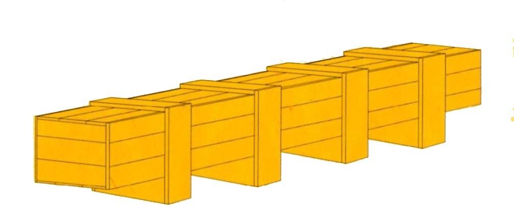 特殊長型鋼條木箱