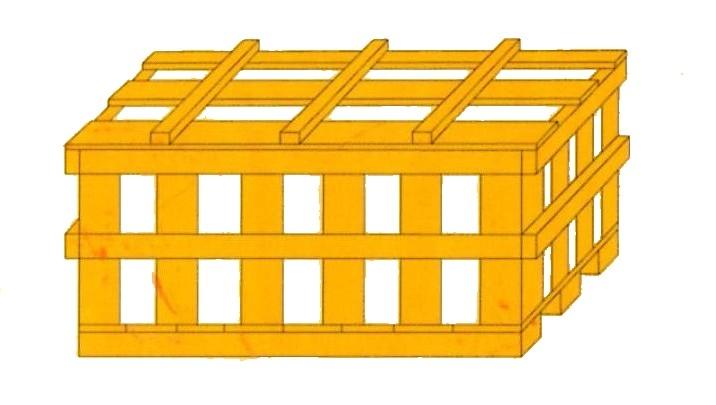 木條箱-可透視內部避免運送中碰撞傷害