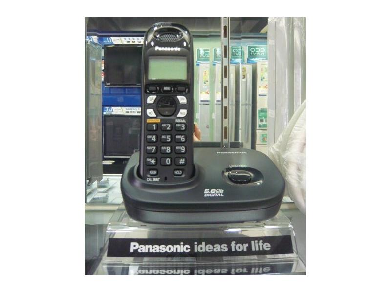 Panasonic 【KX-TG4611TWB】無線電話