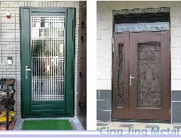 =晴靖=防盜窗、玄關門、玻璃採光罩、通風門、玻璃門