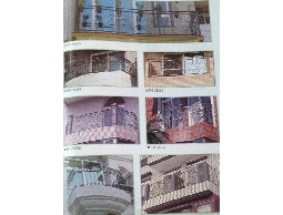 怡樺興 陽台設計、陽台欄杆、鍛造外牆欄杆、陽台鍛造欄杆