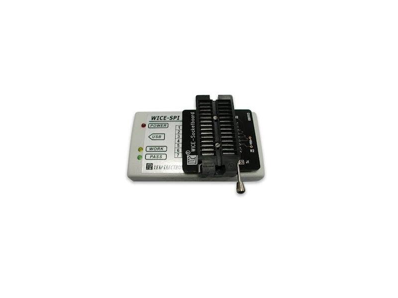 WICE-SPI SPI Flash Memory 在線燒錄模擬器
