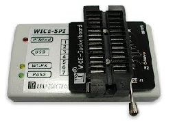 WICE-SPI SPI Flash Memory 在線燒錄模擬器