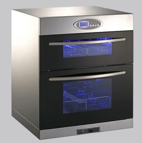 漢光HD-6600雙層對流式落地式烘碗機