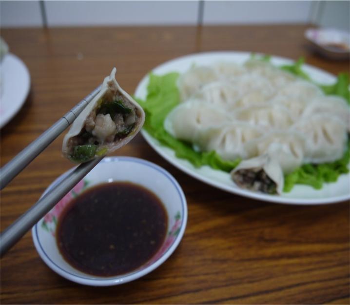 三星蔥牛肉水餃