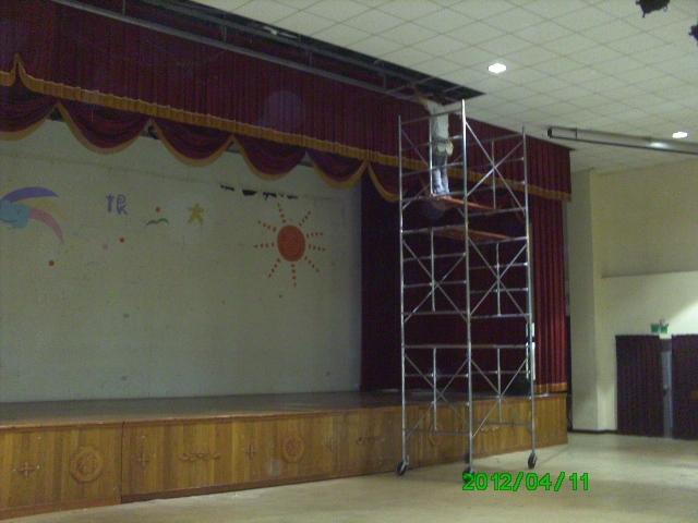 南台科大天花板修繕工程