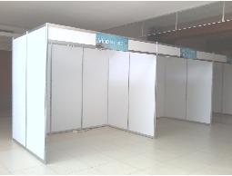 專業的會場佈置.展板組合.攤位隔間設計規劃