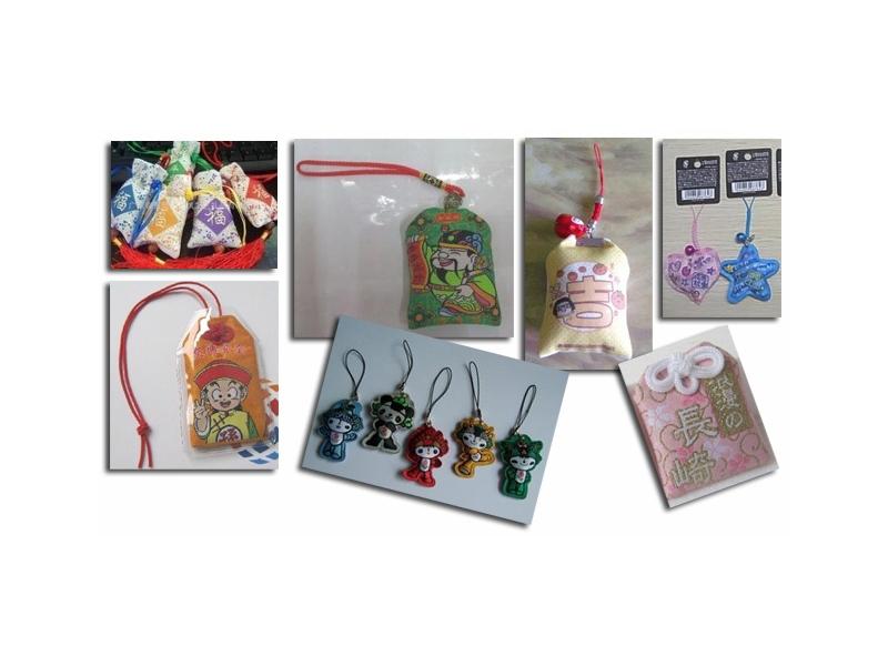 ●布藝品生產:布偶絨毛玩偶,福袋,平安符,護身符,御守,束口袋,香包,抱枕(量產定制)