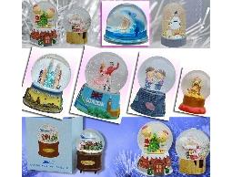 ●水晶球,雪花球,飄雪球,水球 設計/打樣/開模/量產(可小量生產)