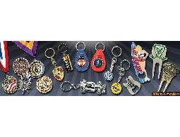 ●金屬五金產品→徽章勳章胸章,鑰匙圈,代幣,吊飾,公仔(設計/開模/量產)