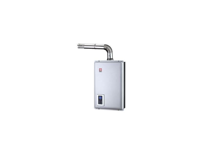 (YOYA)櫻花牌-SH-1670☆16公升浴SPA數位恆溫分段節能強制排氣熱水器☆