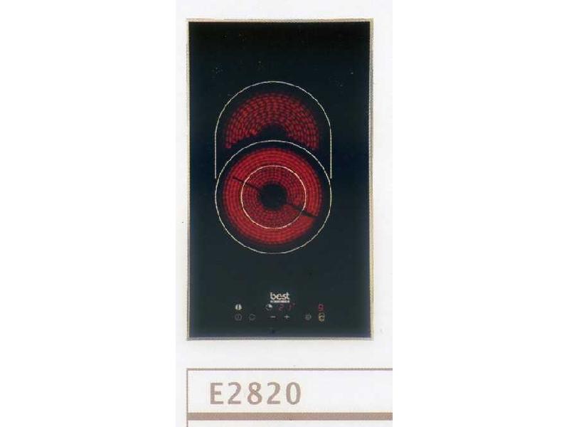 (YOYA) 義大利-世磊鉑金系列Best-E2820☆檯面式崁入單口電陶爐☆德國強化玻