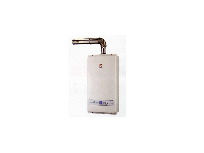 (YOYA)櫻花牌 SH-1333☆13公升大廈數位恆溫強制排氣節能熱水器☆送標準安裝☆