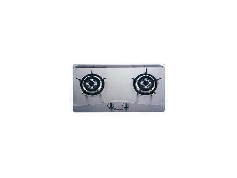 (YOYA)櫻花牌 G-2511KS☆歐化檯面式☆全平面不鏽鋼安全瓦斯爐☆來電特價SG-