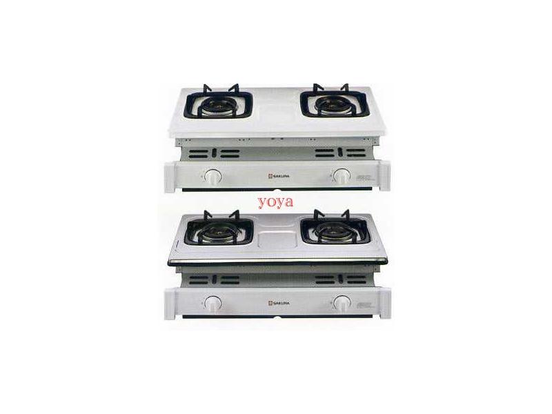 (YOYA)櫻花牌-G-6510K☆崁入式雙環雙內焰爐頭☆節能安全瓦斯爐☆來電特價0983