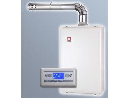 (YOYA)櫻花牌 SH-1691☆16公升浴SPA智慧節能☆數位恆溫強制排氣熱水器☆特價