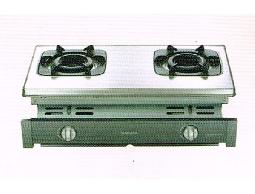 (YOYA)櫻花牌 G6512☆崁入式不鏽鋼雙環內燄爐頭節能瓦斯爐☆標準安裝G-6512☆
