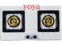(YOYA)喜特麗 JT-2100☆歐化檯面高硬度琺瑯崁入安全瓦斯爐☆特價中0983375