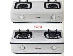 (YOYA)櫻花牌-G-5510K☆傳統式雙環雙內焰爐頭☆節能瓦斯爐☆來電特價
