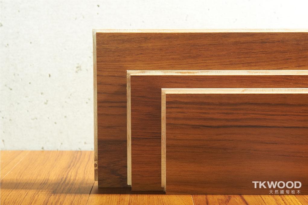 海島型木地板(柚木)