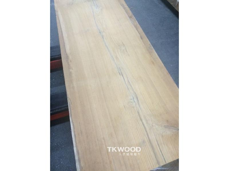 【緬甸柚木-TKWOOD】柚木書桌・原木桌板・柚木地板・柚木餐桌・柚木拼板/企口地板、平口