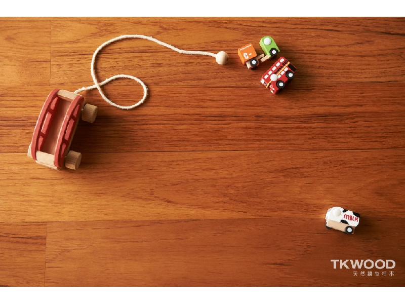 【緬甸柚木-TKWOOD】海島型複合式木地板✶現代時尚✶ - 柚木 14 X 120 MM