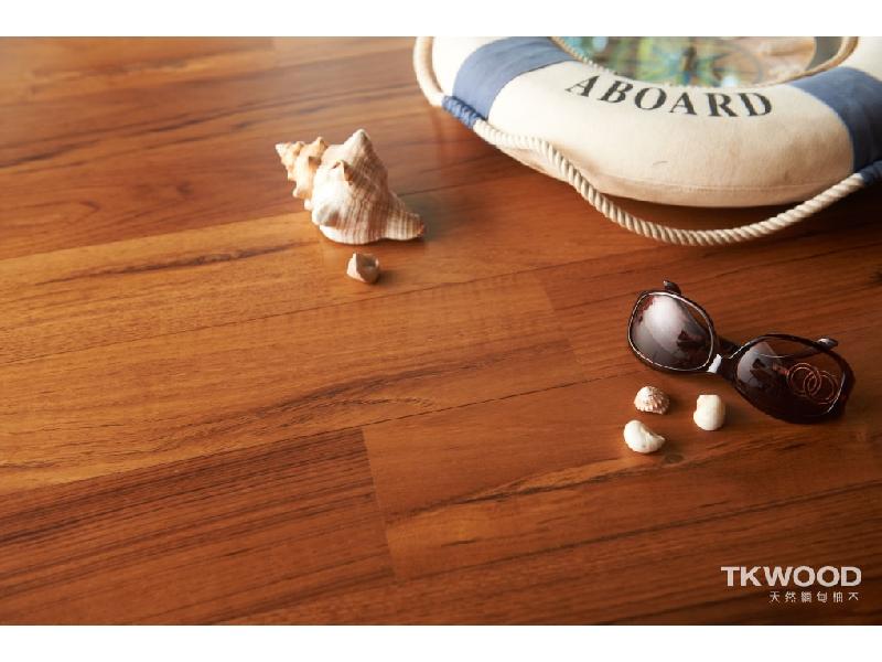 【緬甸柚木-TKWOOD】海島型複合式木地板✶古典懷舊✶ - 柚木 15 X 190 MM