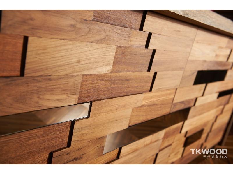 【緬甸柚木-TKWOOD】柚木實木造型牆✶Teak Modeling Wall✶