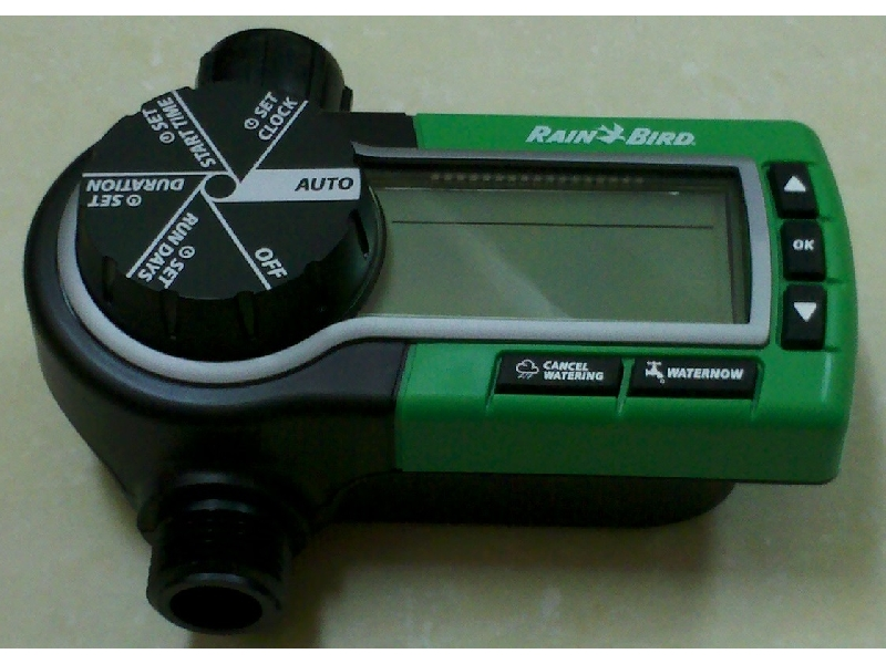 Rainbird電池式中控器-水龍頭timer