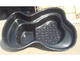 預鑄水池,FRP大型預鑄水池,含有 魚池過濾桶,UVC紫外線殺菌燈,過濾馬達