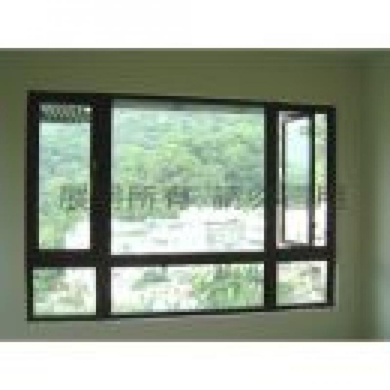 景觀窗+推射窗 氣密隔音鋁門窗