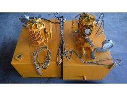 銘成 二手 中古 LEROY SOMER 電機 高壓電動油壓泵浦  幫浦 適用橋梁道路工程