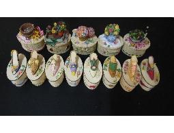 銘成 首飾盒 精緻美觀 可放飾品 零錢 小文具 擺飾品 款式多樣