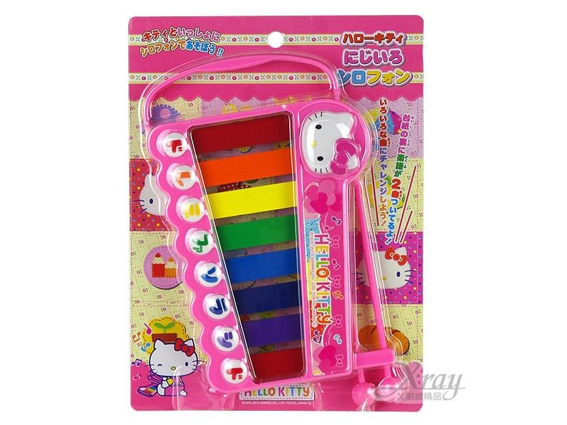 Kitty鐵琴玩具