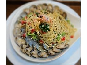 海鮮奶油義大利麵