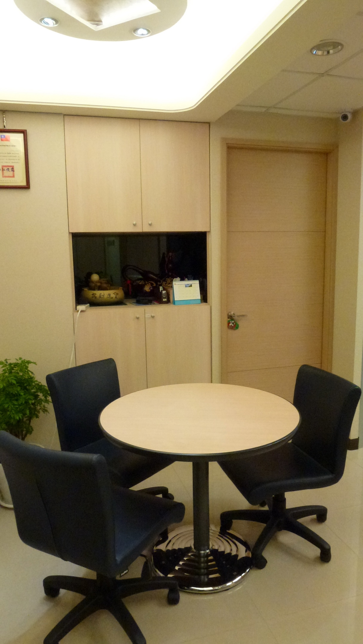 貝萊德林會計師事務所辦公室一隅