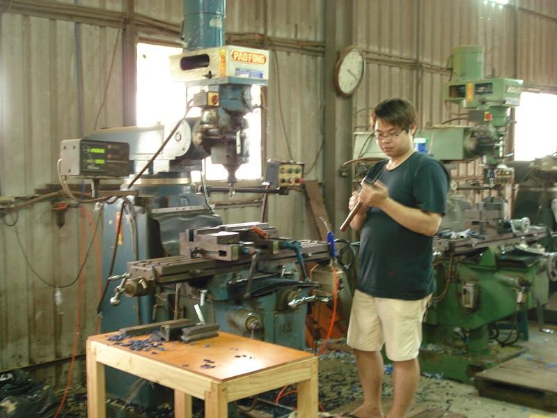 6台傳統銑床