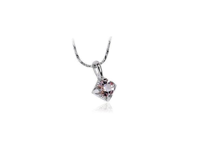 極簡時尚戀戀紫水晶項鍊#016009B060001