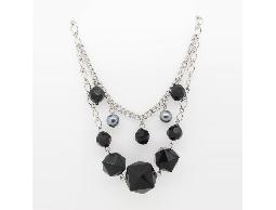 簡約韓系多層次美感珠珠毛衣鍊#023015B070002