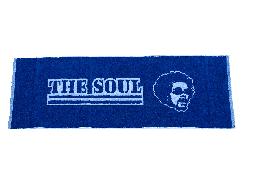 THE SOUL黑人頭運動毛巾