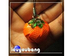 【吉柿工坊】手工藝品打包帶編織到府教學-吉柿相隨-柿子吊飾