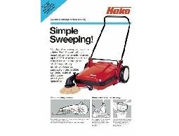 HAKO 手推掃地機