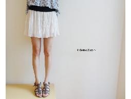 pure‧日本超美上窄下寬輕柔雪紡紗百摺褲裙‧現+預