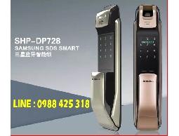 SAMSUNG三星 SHP-DP728 指紋密碼感應卡鑰匙藍牙五合一 推拉型(含安裝)