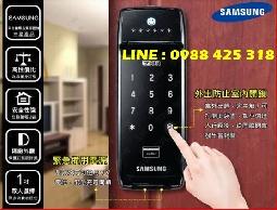 SAMSUNG SHS-2320-三星 密碼感應電子門鎖/電子鎖/感應卡 橫拉門適用(不含